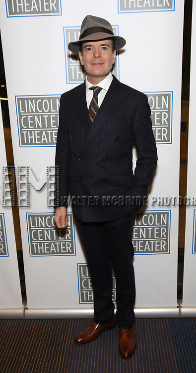 Jefferson Mays attends the Opening Night Performance press reception for the Lincoln Center Theater production of 'Oslo' at the Vivian Beaumont Theater on April 13, 2017 in New York City.