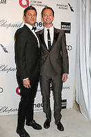 WEST HOLLYWOOD, CA - MARCH 2: Neil Patrick Harris, David Burtka attending the 22nd Annual Elton John AIDS Foundation Academy Awards Viewing/After Party in West Hollywood, California on March 2nd, 2014. Photo Credit: SP1/Starlitepics. /NORTePHOTO
