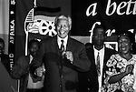 JOHANNESBURG, SOUTH AFRICA - MAY 2: Former South African president Nelson Mandela dances at a victory party held at Carlton Hotel on May 2, 1994 in Johannesburg, South Africa. The historic democratic election was held on April 27, 1994 and Mr. Mandela and his party, the African National Congress, won. Mr. Mandela became the first black democratic elected president in South Africa. He retired from office after one term in June 1999. (Photo by Per-Anders Pettersson)