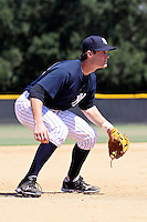 September 28, 2009:  Garrison Lassiter of the GCL Yankees during a game at Yankees Training Complex in Tampa, FL.  The GCL Yankees are the Gulf Coast Rookie League affiliate of the New  York Yankees.  Photo By Mark LoMoglio/Four Seam Images