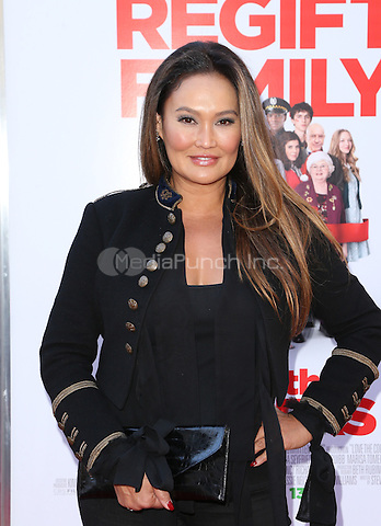 "Los Angeles, CA - November 12 Tia Carrere Attending ""Love The Coopers"" Holiday Luncheon Benefiting The LA Regional Food Bank At The Grove On November 12, 2015. Photo Credit: Faye Sadou / MediaPunch"