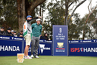 Paul Dunne (IRL) during the 3rd round of the World Cup of Golf, The Metropolitan Golf Club, The Metropolitan Golf Club, Victoria, Australia. 24/11/2018<br /> Picture: Golffile | Anthony Powter<br /> <br /> <br /> All photo usage must carry mandatory copyright credit (&copy; Golffile | Anthony Powter)