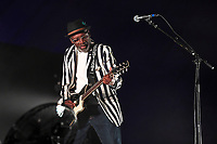 LONDON, ENGLAND - SEPTEMBER 7: Lynval Golding of 'The Specials' performing at Gunnersville, Gunnersbury Park on September 7, 2019 in London, England.<br /> CAP/MAR<br /> ©MAR/Capital Pictures