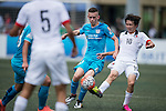 Kitchee vs HKFA U-21 during the Main tournament of the HKFC Citi Soccer Sevens on 22 May 2016 in the Hong Kong Footbal Club, Hong Kong, China. Photo by Lim Weixiang / Power Sport Images