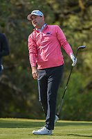 Rob Oppenheim (USA) watches his tee shot on 12 during Round 1 of the Valero Texas Open, AT&amp;T Oaks Course, TPC San Antonio, San Antonio, Texas, USA. 4/19/2018.<br /> Picture: Golffile | Ken Murray<br /> <br /> <br /> All photo usage must carry mandatory copyright credit (&copy; Golffile | Ken Murray)