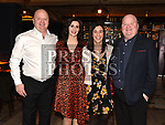 Eamon Kerr, Krystal Tighe, Sylvia Weldon and Niall Kerr from The Store at the Ardee Traders Dinner in Muldoons. Photo:Colin Bell/pressphotos.ie