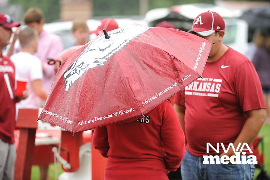 NWA Media/ANDY SHUPE - Arkansas Nicholls during play Saturday, Sept. 6, 2014, at Razorback Stadium in Fayetteville