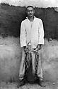 Irak 1948?  Abdul Wahab Rowanduzi spent 7 years in jail.On the photo with chains ( 14 Kg )<br /> Irak 1948? Abdul Wahab Agha Rowanduzi a &eacute;t&eacute; condamn&eacute; a 7 ans de prison. Ici avec des chaines de 14 kilos<br /> عیراق سالی 1948 ؟ عه بدولوه هاب ئاغا روواندوزی حه فت سال زیندانی به کوت و زه نجیر ببوو که قورسایی ئه و کوت وزه نجیره, چوارده کیلو بوو