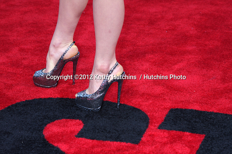 """LOS ANGELES - JUL 17:  Kathryn McCormick arrives at the """"Step Up Revolution"""" Premiere at Graumans Chinese Theater on July 17, 2012 in Los Angeles, CA"""