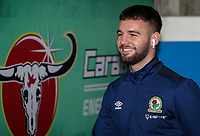 Blackburn Rovers' Adam Armstrong pictured before the match<br /> <br /> Photographer Andrew Kearns/CameraSport<br /> <br /> The EFL Sky Bet Championship - Reading v Blackburn Rovers - Wednesday 13th February 2019 - Madejski Stadium - Reading<br /> <br /> World Copyright © 2019 CameraSport. All rights reserved. 43 Linden Ave. Countesthorpe. Leicester. England. LE8 5PG - Tel: +44 (0) 116 277 4147 - admin@camerasport.com - www.camerasport.com