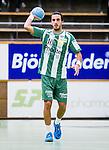Stockholm 2014-09-18 Handboll Elitserien Hammarby IF - IFK Sk&ouml;vde :  <br /> Hammarbys Josef Pujol i aktion <br /> (Foto: Kenta J&ouml;nsson) Nyckelord:  Eriksdalshallen Hammarby HIF HeIF Bajen IFK Sk&ouml;vde portr&auml;tt portrait