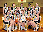 The St. Paul's Killarney U-16 girls basketball team that won the Kerry Basketball Board Plate Final. Front from left are Seodhna O'Donoghue, Amy O'Shea, Claire Buckley, Captain, Aileen O'Leary and Laura Donnellan. In second row are Caitlin Falvey, Leah O'Shea, Megan O'Callaghan and Melissa Buckley. Back from left are Alanna Grealy, Annie Potts, Elizabeth Cronin, Micaela O'Connor and Deirdre Sheahan.  Picture: Eamonn Keogh (MacMonagle, Killarney).