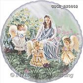 Dona Gelsinger, CHRISTMAS CHILDREN, angels, paintings(USGEBX0802,#XK#) Engel, angeles