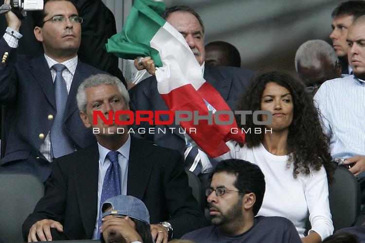 FIFA WM 2006 - Final / Finale<br /> <br /> Play #64 (09-Jul) - Italy vs France.<br /> <br /> TRONCHETTI PROVERA-AFEFF<br /> <br /> <br /> Feature<br /> <br /> <br /> Foto &copy; nordphoto