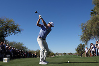 Hudson Swafford (USA) In action during the final round of the Waste Management Phoenix Open, TPC Scottsdale, Phoenix, Arizona, USA. 01/02/2020<br /> Picture: Golffile | Phil INGLIS<br /> <br /> <br /> All photo usage must carry mandatory copyright credit (© Golffile | Phil Inglis)