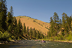 Whitewater Rafting, The Middle Fork of the Salmon River, Idaho