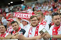 Polnische Fans - 19.06.2018: Polen vs. Senegal, Gruppe H, Spartak Stadium Moskau