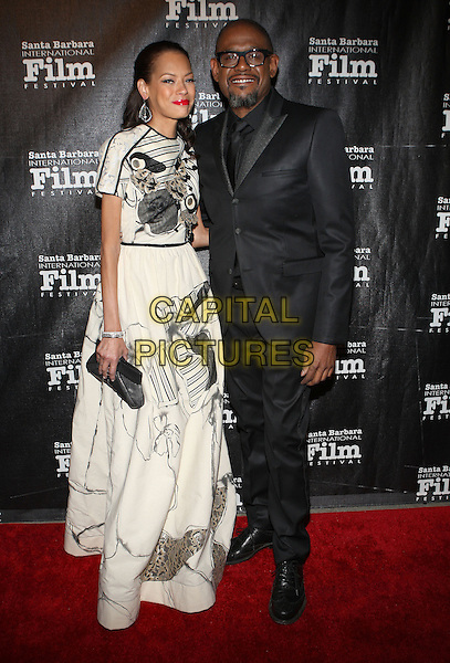 05 January 2014 - Santa Barbara, California -  Keisha Whitaker, Forest Whitaker at Santa Barbara International Film Festival's 8th Annual Kirk Douglas Award For Excellence In Film honoring Forest Whitaker held at The Bacara Resort and Spa.<br /> CAP/ADM/KB<br /> &copy;Kevan Brooks/AdMedia/Capital Pictures