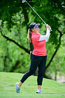 Jackie Stoelting (USA) watches her tee shot on 13 during round 1 of  the Volunteers of America Texas Shootout Presented by JTBC, at the Las Colinas Country Club in Irving, Texas, USA. 4/27/2017.<br /> Picture: Golffile | Ken Murray<br /> <br /> <br /> All photo usage must carry mandatory copyright credit (&copy; Golffile | Ken Murray)