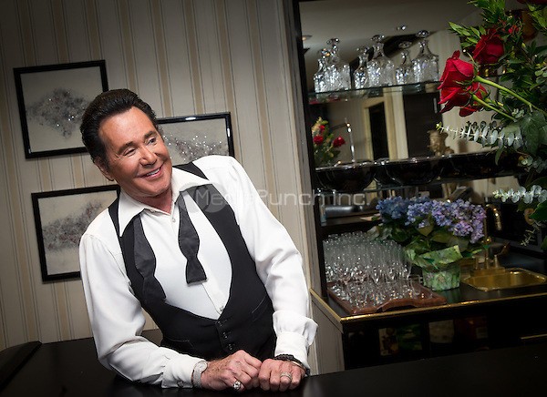 LAS VEGAS, NV - May 11, 2016: ***HOUSE COVERAGE*** Wayne Newton photographed backstage before performing at his residency show 'Wayne Newton: Up Close and Personal' at the Windows Showroom at Bally's Las Vegas in Las vegas, NV on May 11, 2016. Credit: Erik Kabik Photography/ MediaPunch