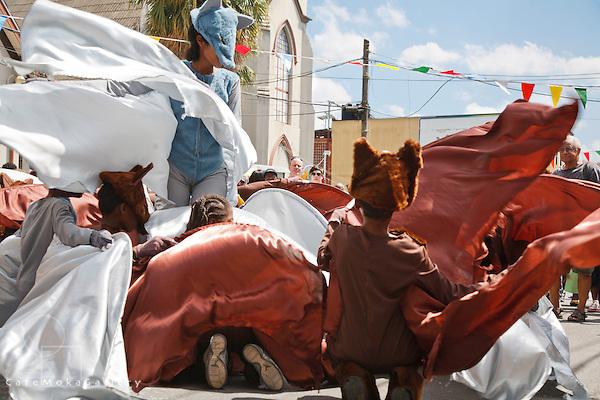 Junior Carnival Bat Mas Traditional Mas parade