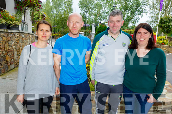 Doroda and Slawek Walus, Mike Riordan and Margaret Boyle attending the Ita Barry Memorial MS Society Charity Walk at the Rose Hotel on Sunday