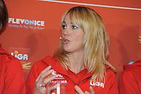 SCHAATSEN: AMSTELVEEN: 15-10-2013, De Jonge Dikkert, Perspresentatie Team LIGA, Marianne Timmer (trainer/coach), ©foto Martin de Jong