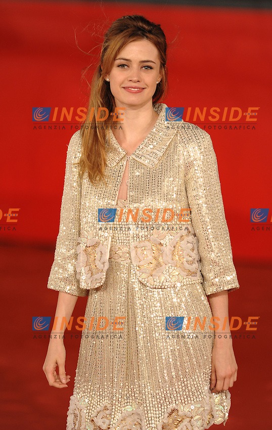 Nathalie Rapti Gomez<br /> Third edition of the Rome International film festival<br /> Roma 28/10/2008 <br /> Red Carpet<br /> Photo Andrea Staccioli Insidefoto