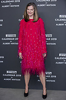 """Cordula Reyer attends the gala night for official presentation of the Presentation of the Pirelli Calendar 2019 """"The cal"""" held at the Hangar Bicocca. Milan (Italy) on december 5, 2018. Credit: Action Press/MediaPunch ***FOR USA ONLY***"""