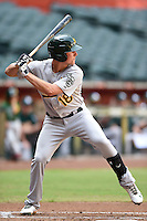 Oakland Athletics outfielder Tyler Marincov (18) during an Instructional League game against the Arizona Diamondbacks on October 10, 2014 at Chase Field in Phoenix, Arizona.  (Mike Janes/Four Seam Images)