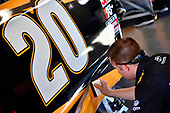 Monster Energy NASCAR Cup Series<br /> Daytona 500<br /> Daytona International Speedway, Daytona Beach, FL USA<br /> Saturday 17 February 2018<br /> Erik Jones, Joe Gibbs Racing, DEWALT Toyota Camry crew<br /> World Copyright: Rusty Jarrett<br /> LAT Images
