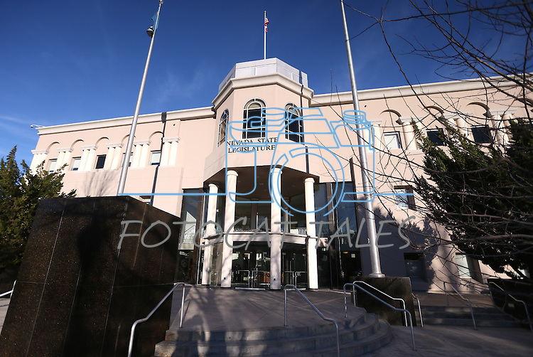 The Nevada Legislative Building in Carson City, Nev., on Tuesday, Feb. 17, 2015. <br /> Photo by Cathleen Allison