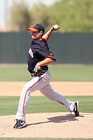 Joe Martinez, San Francisco Giants 2010 minor league spring training..Photo by:  Bill Mitchell/Four Seam Images.