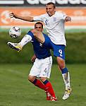 Soccer, UEFA U-17.France Vs. England.Hallum Hope.Indjija, 03.05.2011..foto: Srdjan Stevanovic