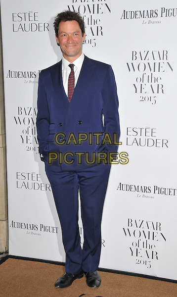 Dominic West attends the Harper's Bazaar Women of the Year Awards 2015, Claridge's Hotel, Brook Street, London, England, UK, on Tuesday 03 November 2015. <br /> CAP/CAN<br /> &copy;Can Nguyen/Capital Pictures