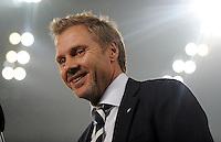 FUSSBALL   1. BUNDESLIGA   SAISON 2011/2012   23. SPIELTAG Borussia Moenchengladbach - Hamburger SV         24.02.2012 Trainer Thorsten Fink (Hamburger SV)