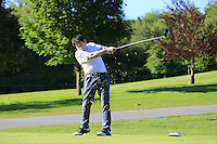 Gregory Bourdy (FRA) team during Wednesday's Pro-Am of the 2014 Irish Open held at Fota Island Resort, Cork, Ireland. 18th June 2014.<br /> Picture: Eoin Clarke www.golffile.ie