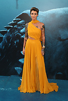 HOLLYWOOD, CA - August 6: Ruby Rose, at Warner Bros. Pictures And Gravity Pictures' Premiere Of &quot;The Meg&quot; at TCL Chinese Theatre IMAX in Hollywood, California on August 6, 2018. <br /> CAP/MPI/FS<br /> &copy;FS/MPI/Capital Pictures