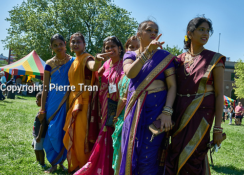 Defile Indien, 2019<br /> <br /> PHOTO : Agence Quebec Presse - Pierre Tran