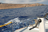 - coast of Tunisia, Cape Bon ....- costa della Tunisia, capo Bon