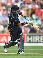 Ross Taylor batting.<br /> New Zealand Black Caps v England, ODI series, University Oval in Dunedin, New Zealand. Wednesday 7 March 2018. &copy; Copyright Photo: Andrew Cornaga / www.Photosport.nz