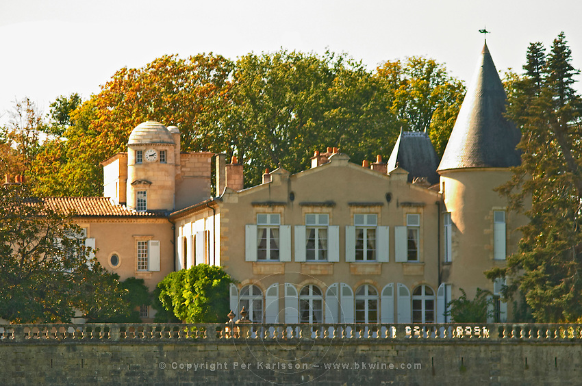 Chateau Lafite Rothschild in Pauillac, Medoc, Bordeaux