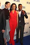 Odette Annable & Reshma Shetty & Aaron Jennings -  Pure Genius,  - CBS Upfront 2016 - Oak Room, New York City, New York.  (Photo by Sue Coflin/Max Photos)