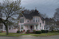Heritage home at the intersection of Brock and Maria Streets.