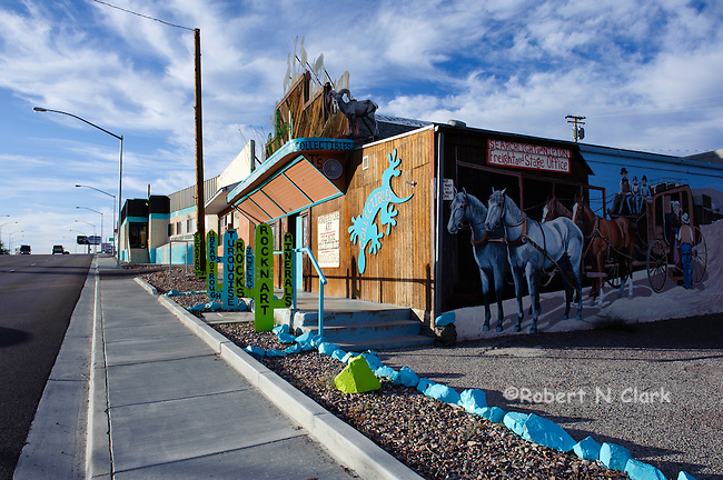 Curio shop on Highway 95, Searchlight, Nevada