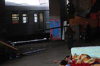 SAO PAULO, SP, 03 Janeiro 2012.A CPTM (Companhia Paulista de Trens Metropolitanos) liberou os trens das linhas 7-Rubi e 8-Diamante nesta terça-feira (3). Elas voltaram a circular normalmente às 6h nos trechos entre Barra Funda e Luz e Barra Funda e Júlio Prestes.  (FOTO: ADRIANO LIMA - NEWS FREE)