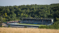 General view of the stadium ahead of the pre season friendly 'Cherry Red Records Cup' match between Wycombe Wanderers and AFC Wimbledon at Adams Park, High Wycombe, England on 25 July 2017. Photo by Andy Rowland.