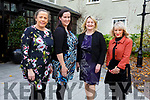 Honor Clifford (Manor West Hotel), Ruth O'Sullivan (Manor West Hotel), Sinead McCarthy (The Brehon) and Caroline Papil (The Gleneagle Hotel) at the Ballygarry House Hotel for the IHF Employee of the Year Awards on Tuesday.
