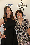 Figure skater Emily Hughes and mom at Figure Skating in Harlem's Champions in Life (in its 21st year) Benefit Gala recognizing the medal-winning 2018 US Olympic Figure Skating Team on May 1, 2018 at Pier Sixty at Chelsea Piers, New York City, New York. (Photo by Sue Coflin/Max Photo)