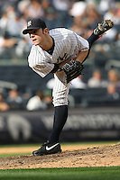 09/19/11 Bronx, NY: New York Yankees relief pitcher David Robertson #30 during an MLB game played at Yankee Stadium between the Minnesota Twins and the New York Yankees. The Yankees defeated the Twins 6-4.